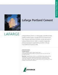 Lafarge Mortar Color Chart Lafarge Portland Cement Avr Inc