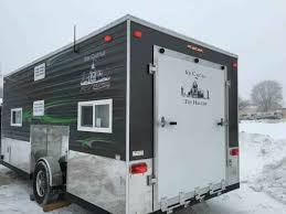 2016 used ice castle fish houses rv edition standard 8 x 17v toy hauler in iowa ia