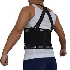 Back Support Brace Shoulder Straps Male Pain Belt Corset for Men Heavy Lift Work Lumbar Posture Corrector Y001
