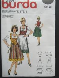 Dirndl Pattern Impressive This PDF Pattern Includes Computer Drafted Printout Patterns For 48