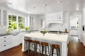Helping To Bridge The Gap Between The Two Is The Island Countertop. The  Soft, Off White Color Warms Up ...