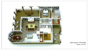 small floor plans small cottage floor plan rendering place free small cabin floor plans with loft