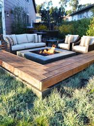 Backyard Ideas  Cheap Fire Pit Tiki Torches And Summer FunBackyard Fire Pit Area
