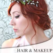 redding wedding hair makeup