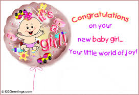 38 Wonderful Baby Girl Born Wishes Pictures