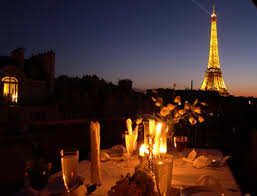 dining with eiffel tower view. paris perfect vacation rental with eiffel tower view dining
