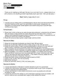 Pre Birth Plan Rcs Birth Plan Share Babycenter