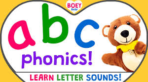 Uk english zed version of our alphabet song! Learn Phonics Letter Sounds British English Full A Z Phonic Sounds Boey Bear Youtube