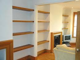solid wood floating shelf diy