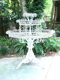 iron plant stand outdoor plant stands metal