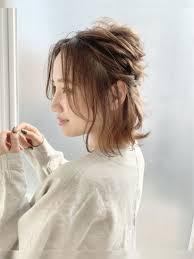 2分でできるヘアアレンジヘアカタログ 美容室 Nyny 大久保店 千代田
