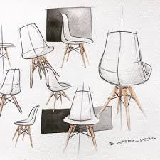 industrial design sketches furniture.