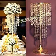 gold table centerpieces gold table centerpieces chandelier centerpiece wedding crystal flower stand from blue and decoration gold table centerpieces