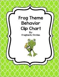 Frog Behavior Clip Chart Frog Behavior Clip Chart Hop To The Top
