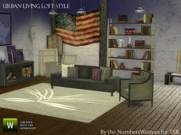 urban loft furniture. exellent urban the sims resource urban loft living by thenumberswoman  and furniture