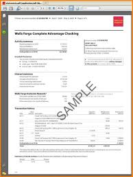 Sample Bank Statement Adorable Sample Bank Statement Simple Download Amazing Sample Bank Statement