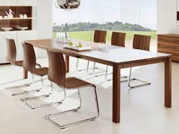 Kitchen Modern Wood Table  Eiforces - Modern wood dining room sets