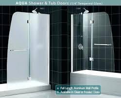 bathtub glass doors bath shower door installation instructions bathtubs tub and for durban idea corner