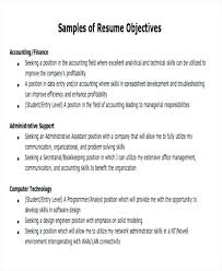 Resume Objective Necessary Resume Objectives Resume Objective Resume ...