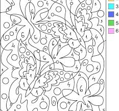 Free Printable Color By Number For Adults Free Printable Paint