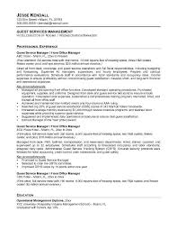 free guest service manager resume example service manager resume examples