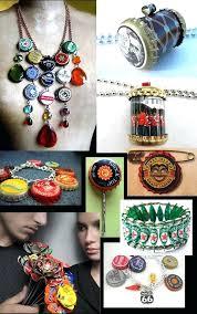 bottle cap jewelry bottle cap accessories diy bottle cap necklace kit