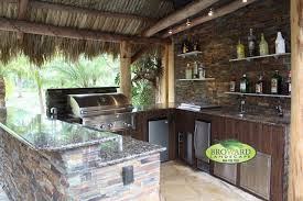 Tropical Outdoor Kitchen Designs Unique Design