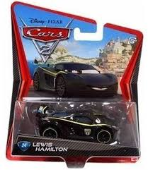 He's a lovely deep green, with nice decals and wheel details. Amazon Com Disney Pixar Cars 2 Movie Lewis Hamilton 24 1 55 Scale Toys Games