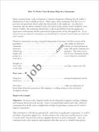 Strong Resume Objective Statements Examples Examples Of Good Resume Objective Statements Example Spacesheep Co