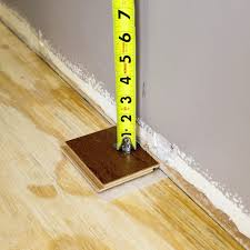 measuring from s piece of flooring