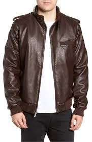 if leather pants aren t for you still not over that friends episode pick up a cool new jacket like this faux leather members only from nordstrom