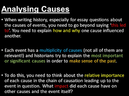 analysing the reasons for the end of the cold war l o to analyse  analysing causes when writing history especially for essay questions about the causes of events