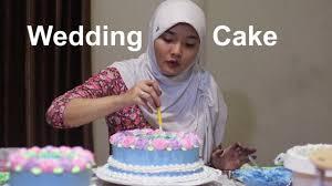 Wedding Cake Dua Tingkat Youtube