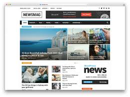 Free Html Newspaper Template 34 Best Wordpress Newspaper Themes For News Sites 2019