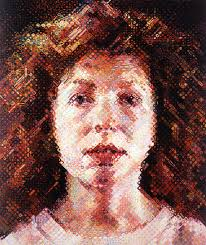 by chuck close in the collection