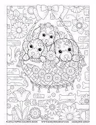 Kleurplaat Puppy Pin By Annie Walter On Adult Coloring Pinterest