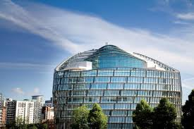 eco friendly office. one angel square manchester uk eco friendly office 5