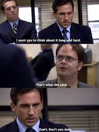 funny lines from the office