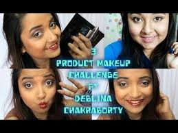 3 makeup challenge easy day to night fresh summer makeup tutorial with 3 s collab