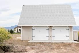 cottage garage doorsGarage Makeover Project Curb Appeal  The Wood Grain Cottage