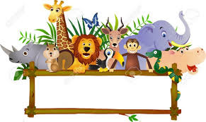 baby animal clipart borders. Perfect Animal Zoo Animal Clipart Border Free Images At Clker Com Vector Clip Throughout Baby Borders