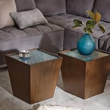 wooden cubes furniture. INK+IVY Mozart Blue/Morocco Mosaic Wooden Cubes - Free Shipping Today Overstock 19743761 Furniture