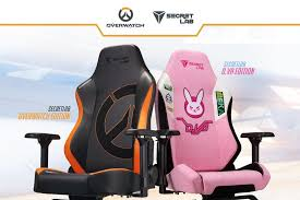 Secretlabs Overwatch Edition Gaming Chairs Wont Help Your