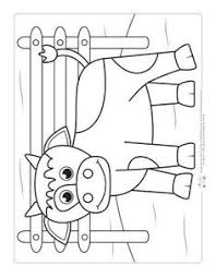 a cow coloring page for kids farm coloring pages coloring pages for kids