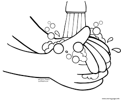 It's really important that we wash our hands for at least 20 seconds to get rid of all the germs. Wash Hands Coloring Pages Coloring Home