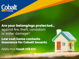 low cost home contents insurance for cobalt tenants