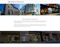 Creative Design Associates Destefano Associates Inc Website Redesign Ld