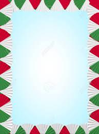 Italy Fan Folding Ribbon Background
