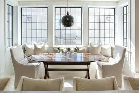 dining room banquette furniture. Banquette Dining Table Window Seat With Oval X Based Set Room Furniture C