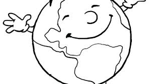 Coloring Pages Of The Planet Earth Mjsweddingscom
